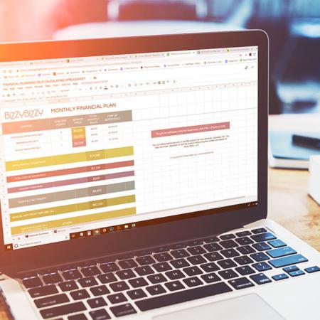 Freelancer Finances Template - Google Doc or Excel File