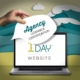 1 Day Website Agency Licensing & Certification - hand holding sign by computer