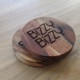 Bizzy Bizzy wooden coasters from James Rose of Agency Highway