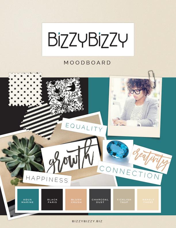 Brand Board Design Example