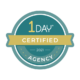 1 Day Website Agency Certification