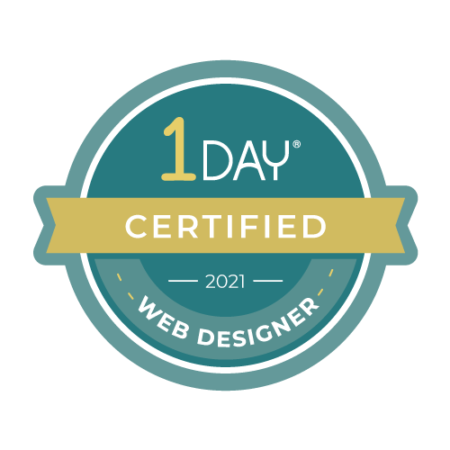 1 Day Website Designer Certification