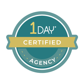 One Day Website Agency Certification