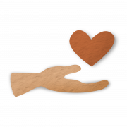 Hand and heart: The Caregiver Brand Archetype icon
